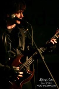 Robin live schwarz Leder
